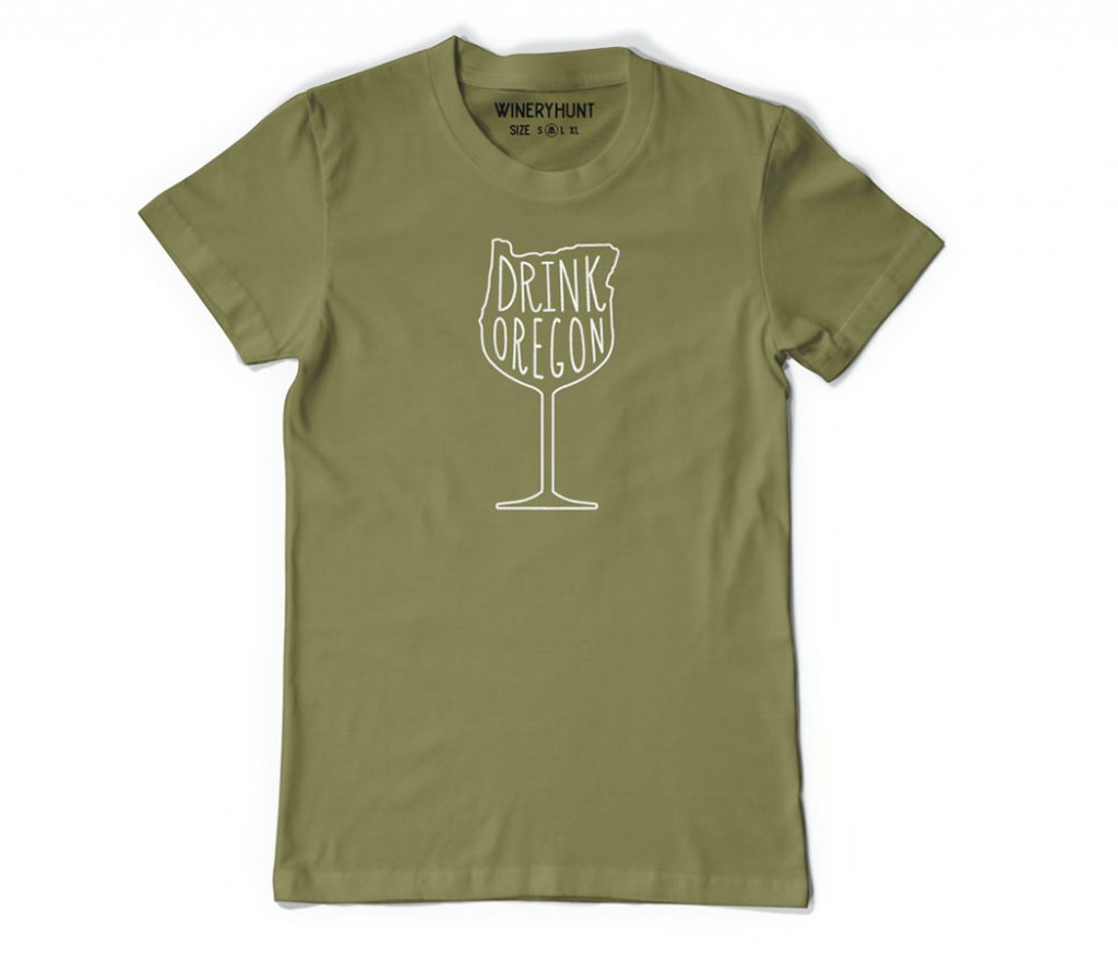 Drink Oregon Wine Shirt