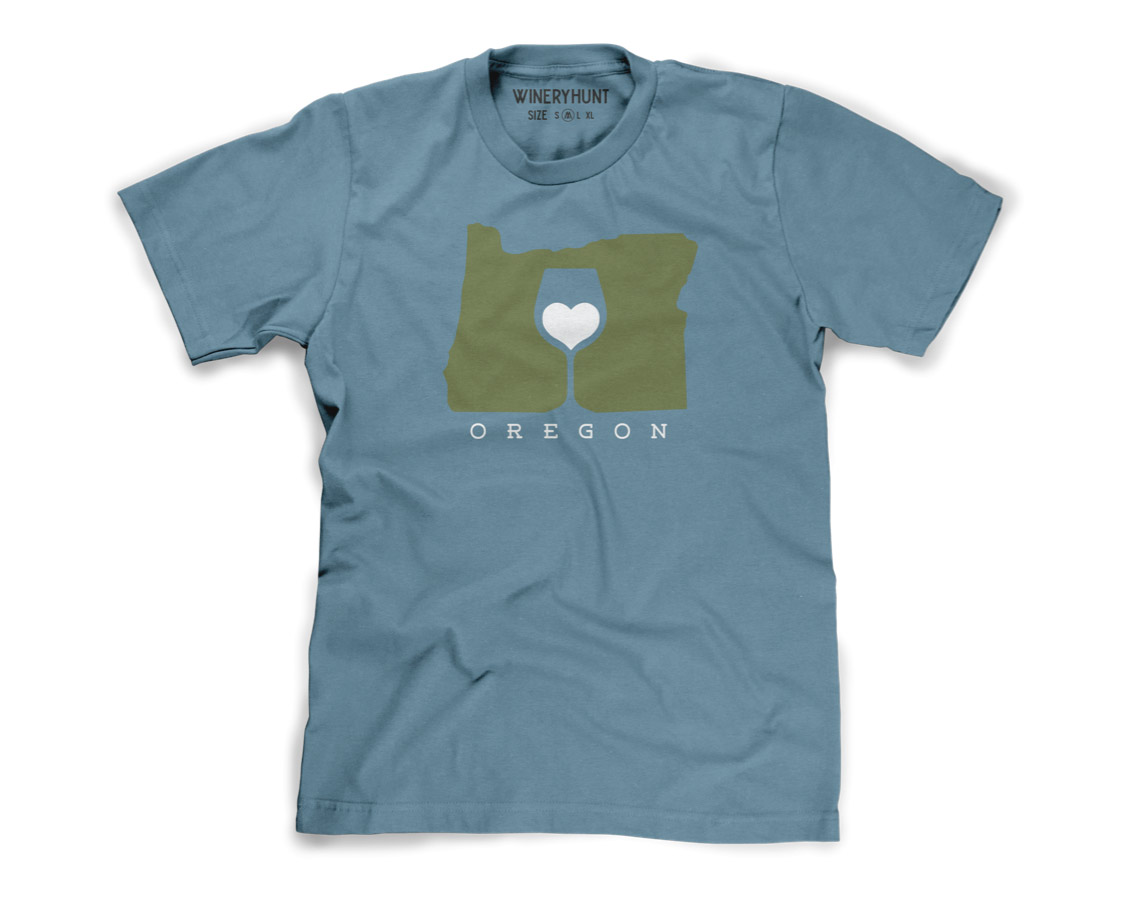 Love Oregon Wine Shirt