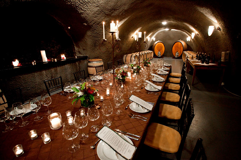 Oregon Wineries with Barrel Caves Archery Summit