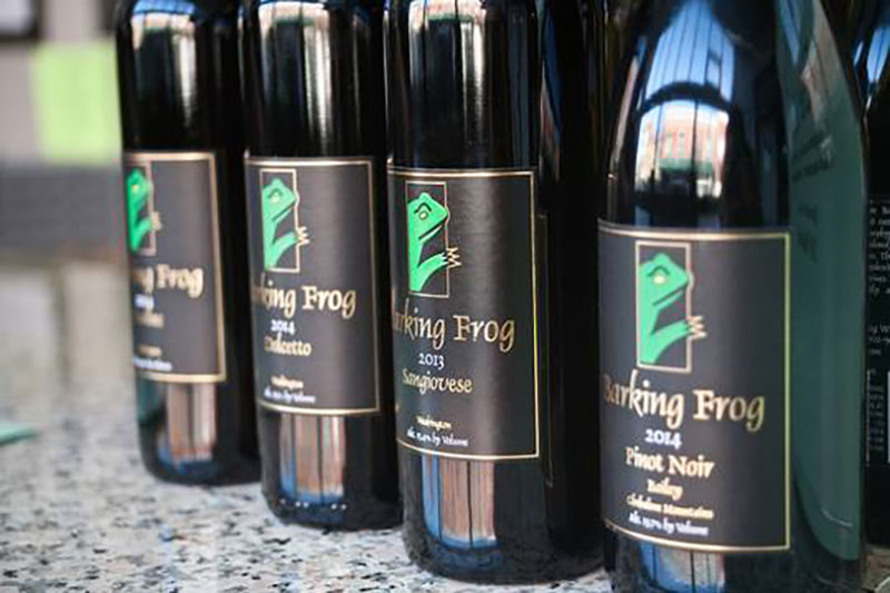 Barking Frog Big Oregon Red Wines