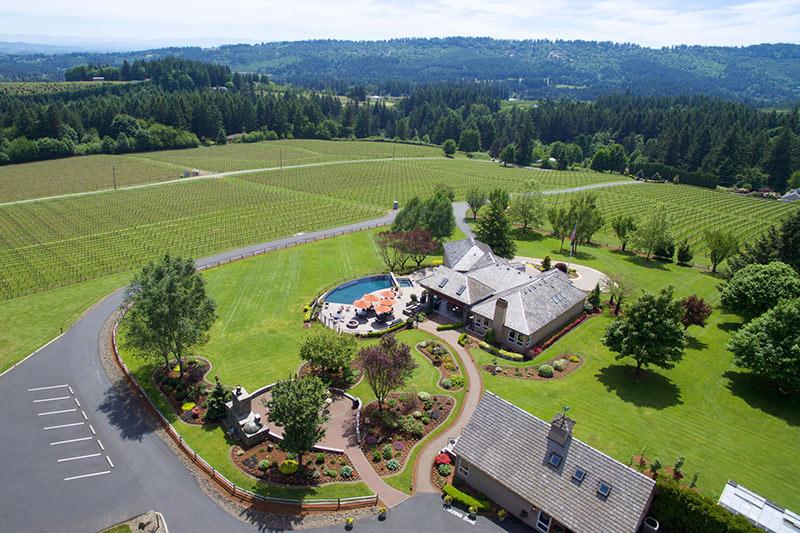 Oregon Wineries with Electric Vehicle Charging Blakeslee Vineyard Estate