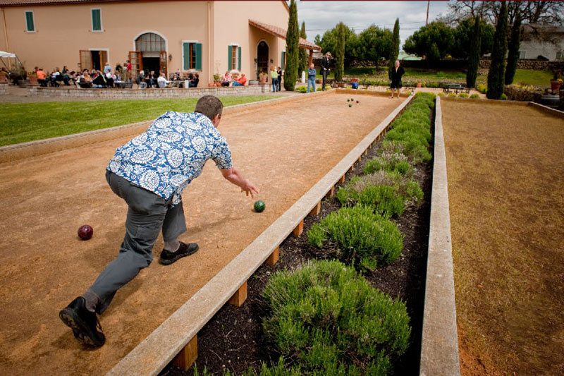 Oregon Wineries with Bocce Ball Cana's Feast Carlton