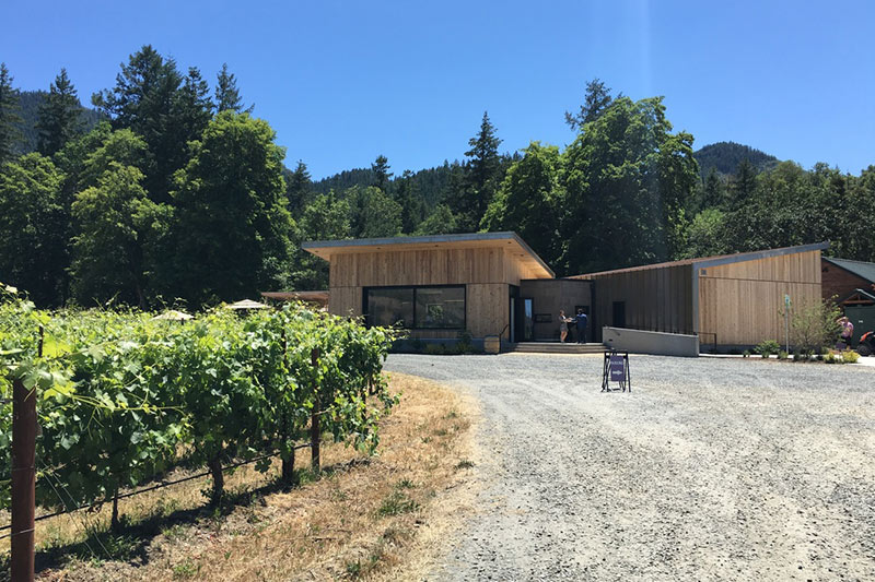 Biodynamic Oregon Winery Cowhorn