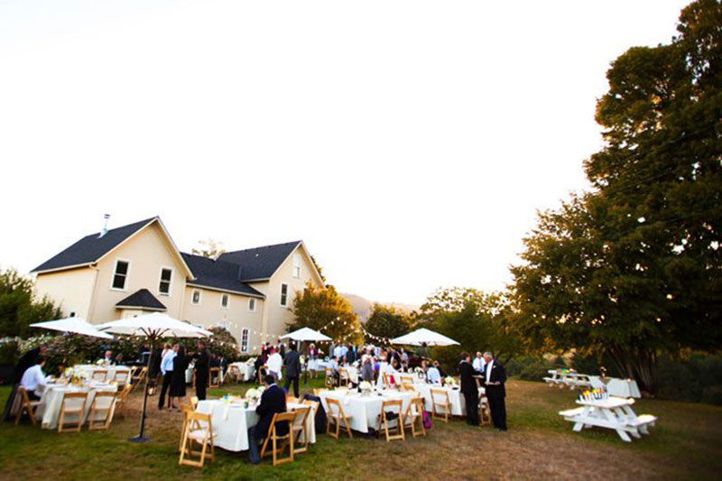 Sugar grove winery wedding