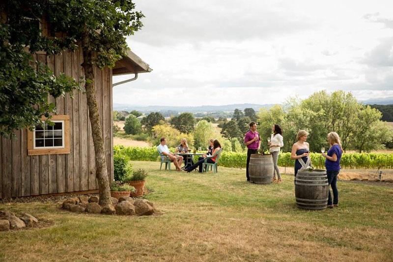 Best Oregon Winery Wedding Venues Legacy Vineyard