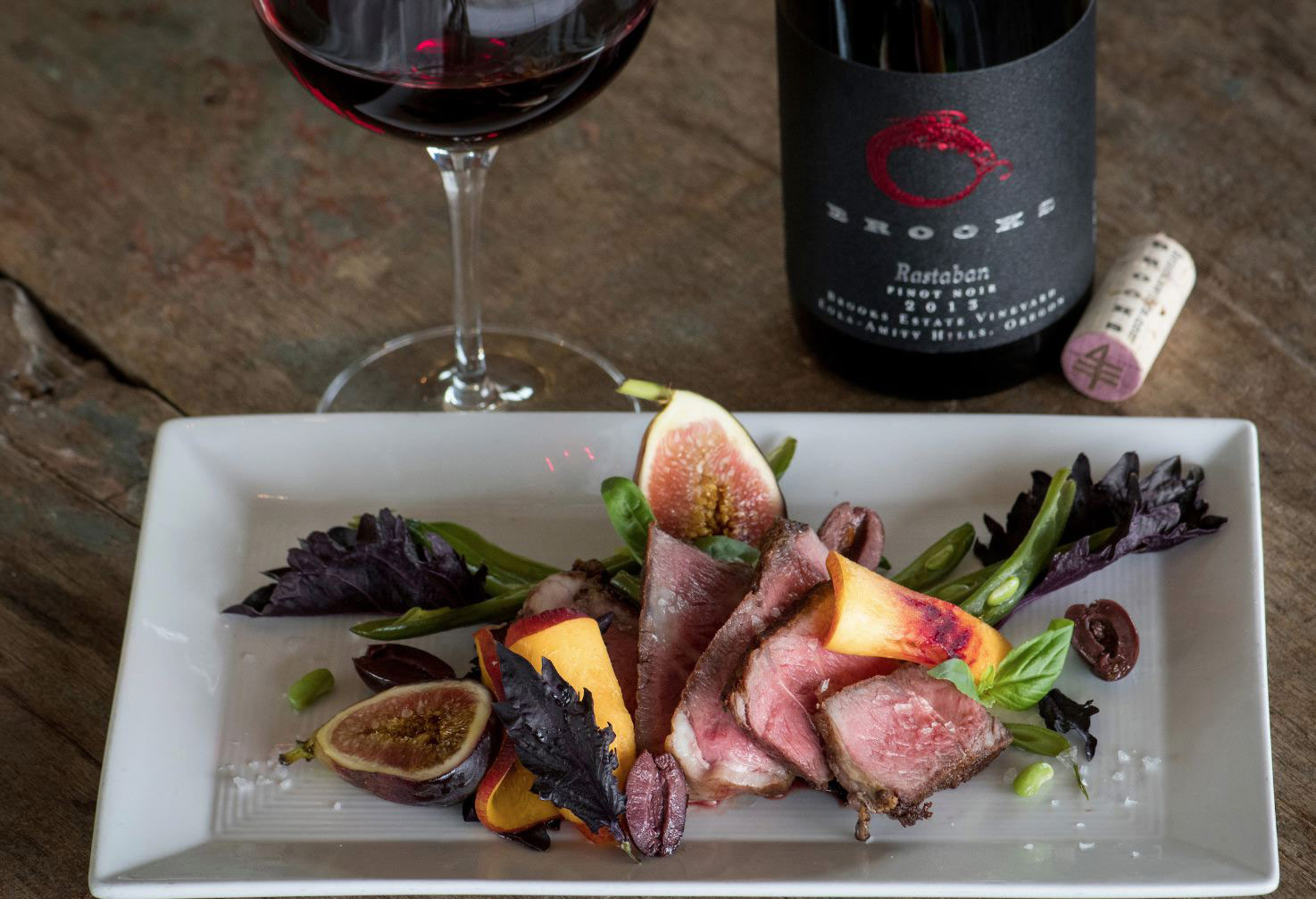 Best Oregon wineries with food Brooks