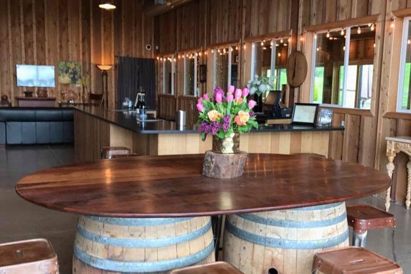 Rain Dance New Oregon Wine Tasting Rooms