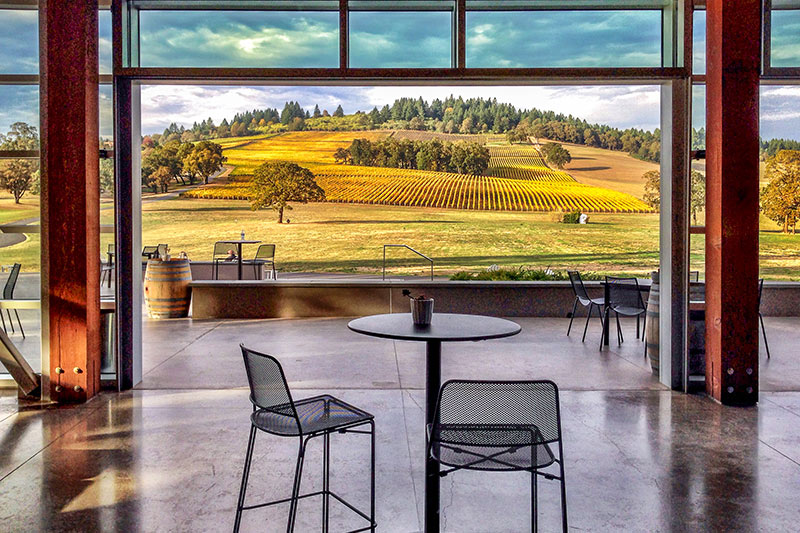 Oregon Wineries with Electric Vehicle Charging