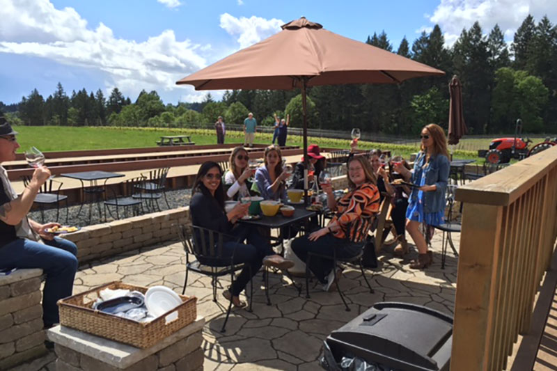 Oregon Wineries with Bocce Ball Utopia