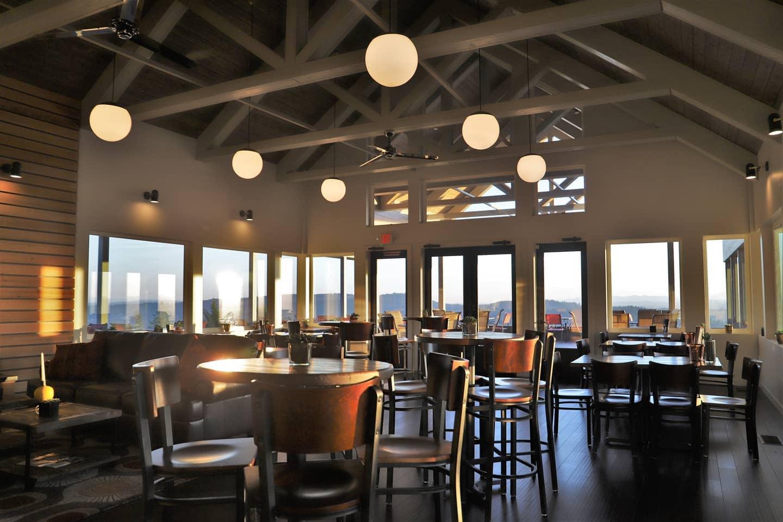 Bryn Mawr Vineyards tasting room