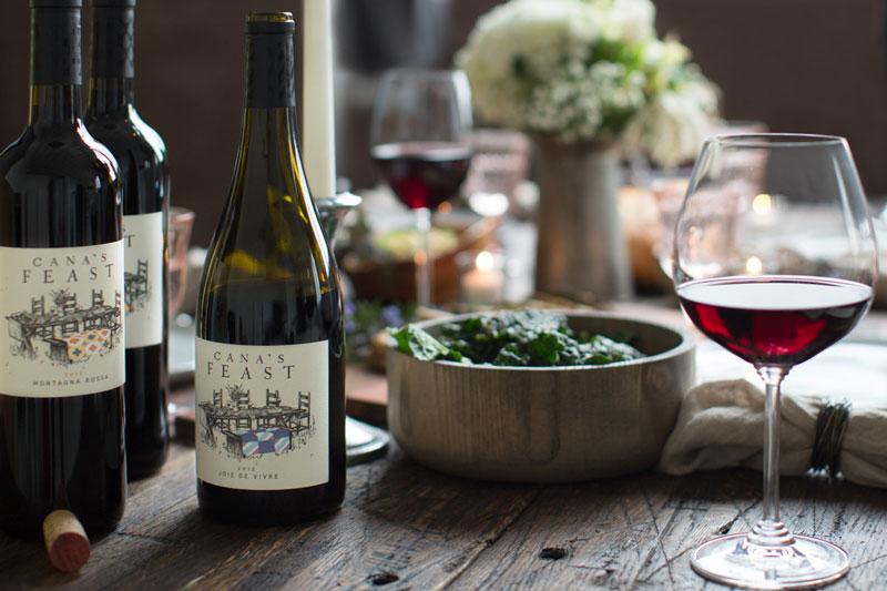 Cana's Feast table setting