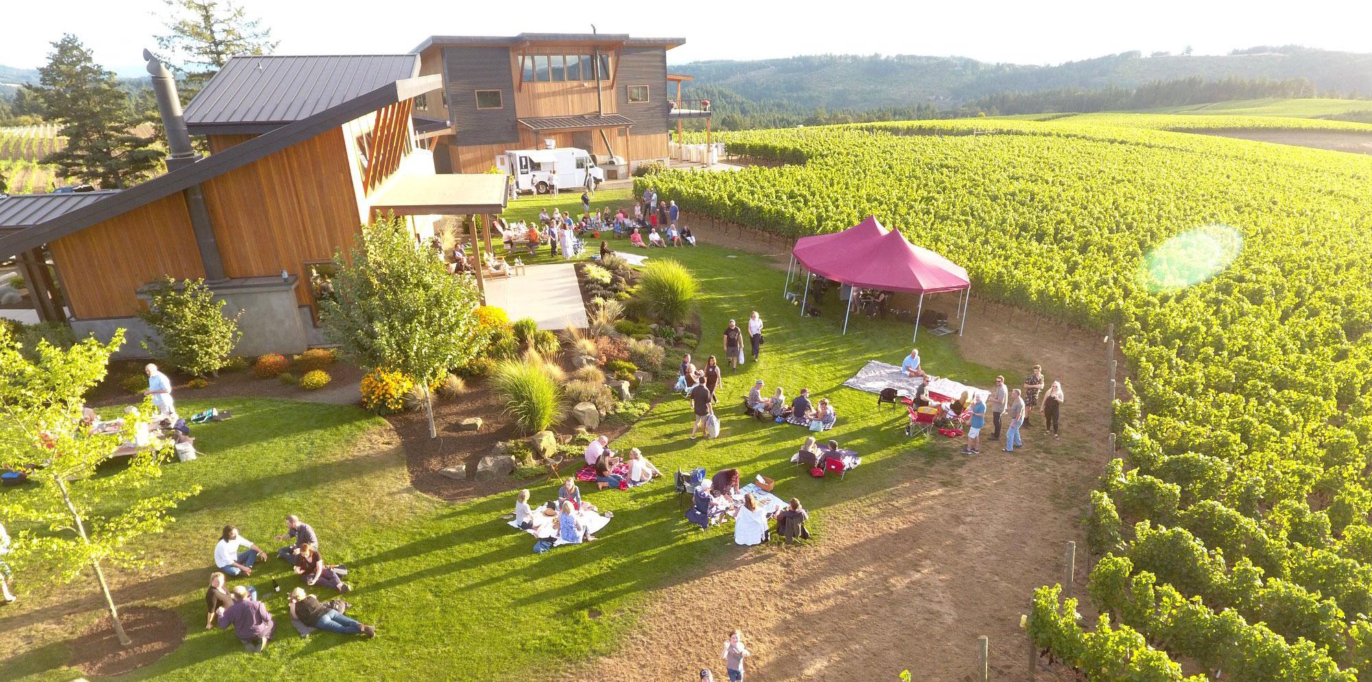 Eminent Domaine winery Ribbon Ridge